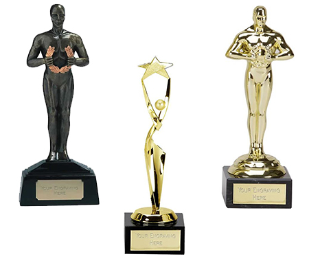 Achievement Statue Award Trophies