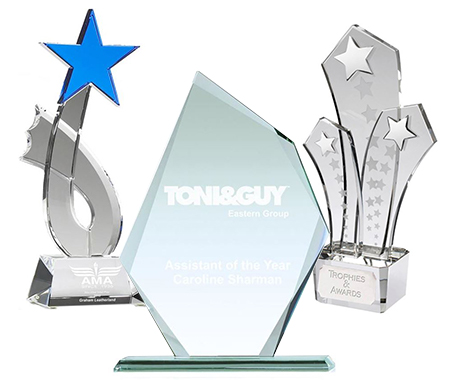 Glass, Crystal & Acrylic Awards