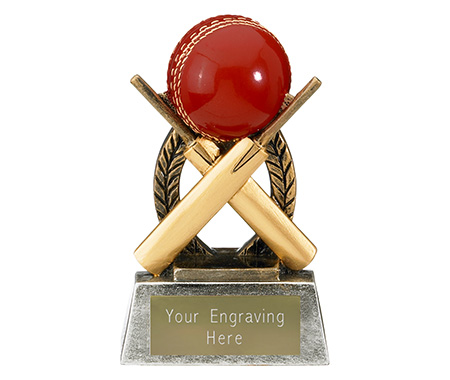 Cricket Bat and Ball Trophies