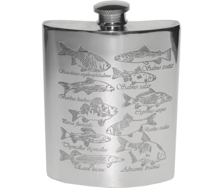 Personalised Fishing Hip Flasks