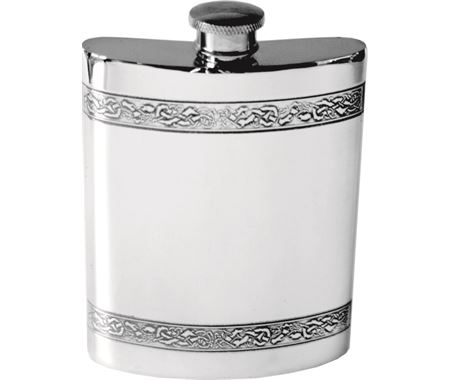 Personalised Patterned Hip Flasks