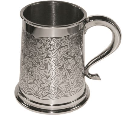 Personalised Celtic Tankards
