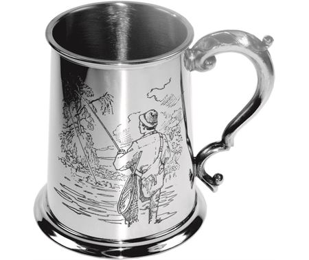 Personalised Fishing Tankards