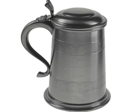 Personalised Tankards with Lids