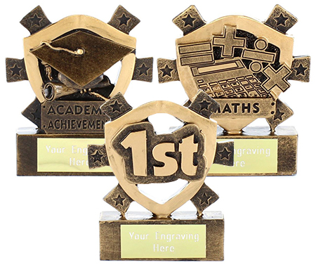 Mini Shield Trophies