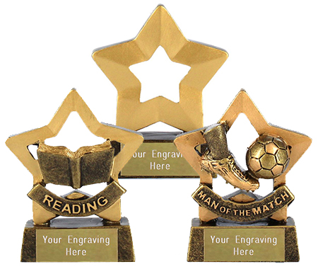 Mini Star Trophies