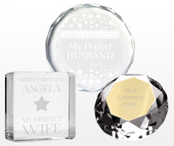 Personalised Paperweights