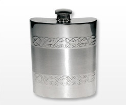 Personalised Celtic Hip Flasks