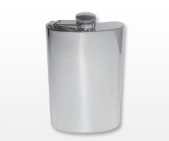 Personalised Large Hip Flasks