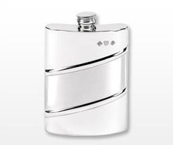 Personalised Pewter Hip Flasks