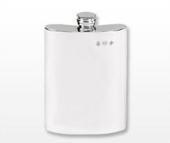 Personalised Plain Hip Flasks