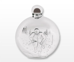 Personalised Round Hip Flasks