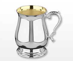 Personalised Silver Plated Tankards