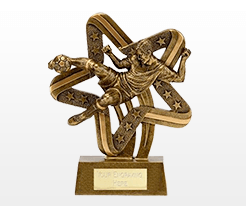 Action Football Trophies