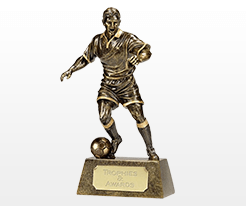 Female Football Trophies