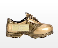 Golf Shoe Trophies